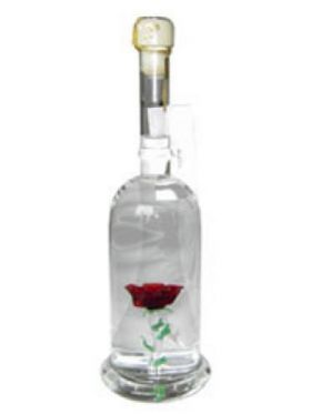 rose aus glas geschenk flaschen rose aus glas online shop. Black Bedroom Furniture Sets. Home Design Ideas