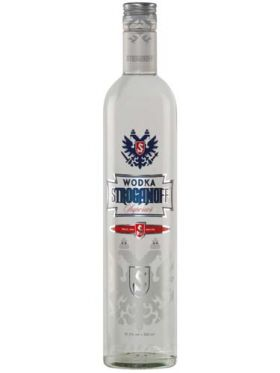 Wodka Stroganoff Superior, 500ml 37,5%vol.